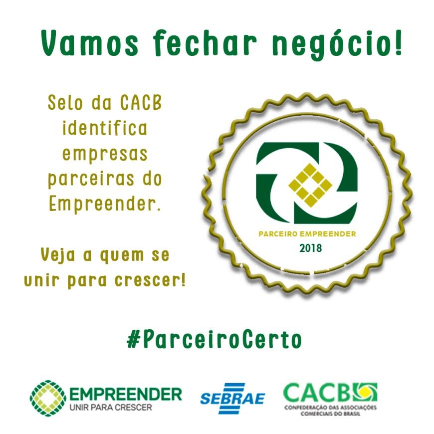 5cc9d8882 ... Empresariais do Brasil (CACB) criou o Parceiro Empreender, projeto que  visa a promover oportunidades de negócios entre empresas de prestação de  serviços ...