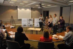 Presenting to the Design Review Committee