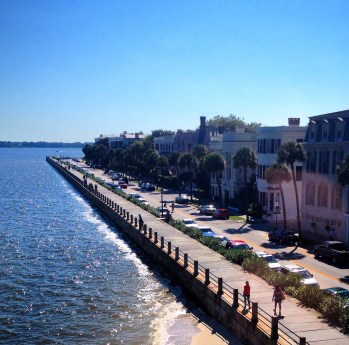 View from the Historic Charleston Foundation