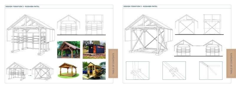Individual Design Iterations - Rushabh