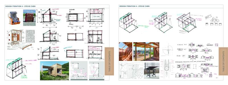 Individual Design Iterations - Stevie