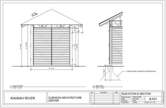 Elevation Section Details