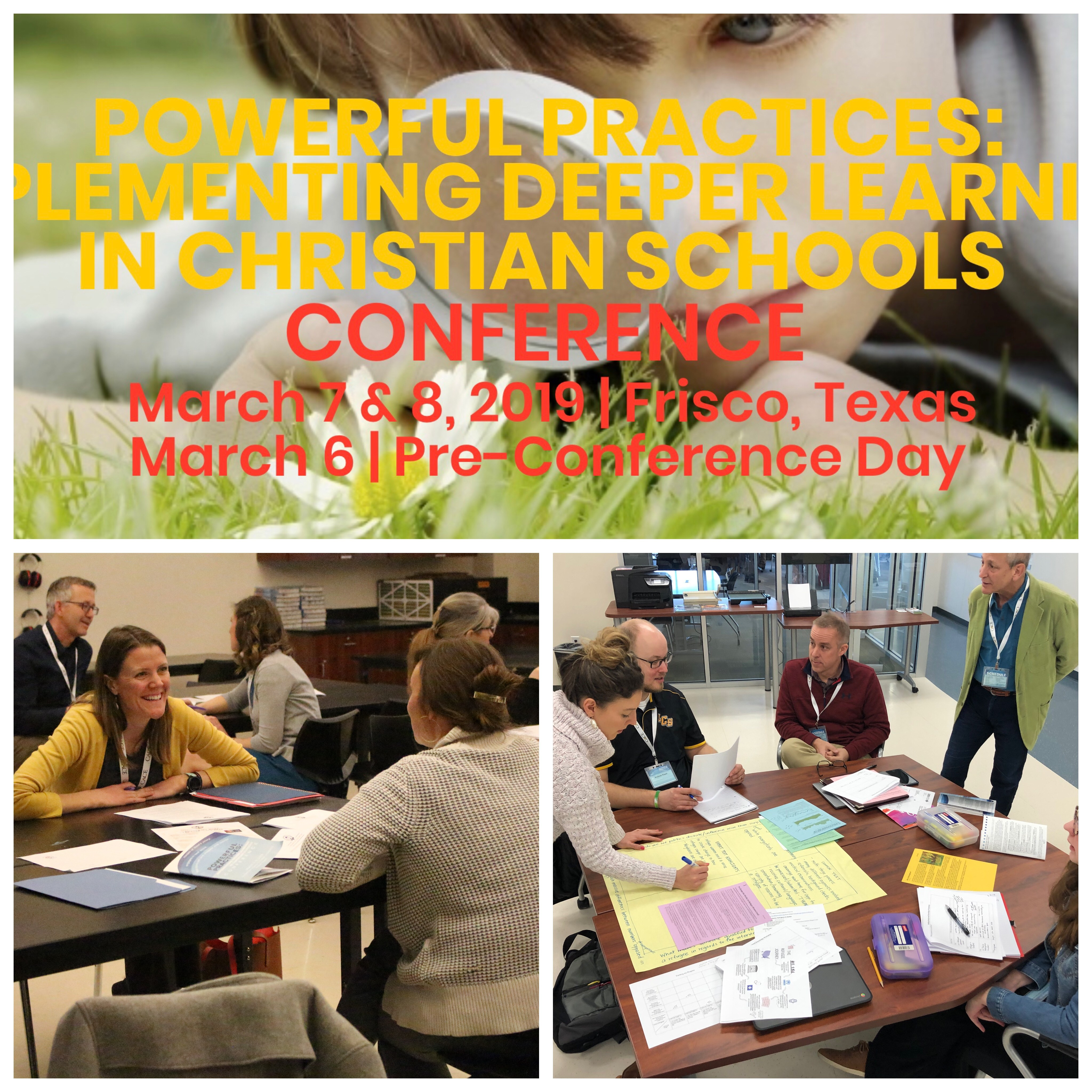 Deeper Learning Conference–Take Two!