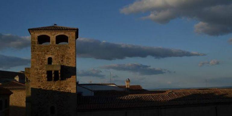 Cáceres torre del palacio de Golfines de Abajo