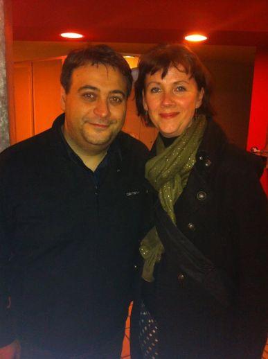Eric Legnini et Christine Protin