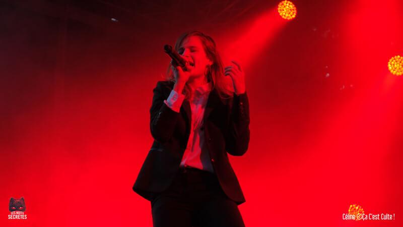 Christine and The Queens Les Nuits Secrètes 2014 – Vendredi 1er août @Aulnoye-Aymeries ©Céline