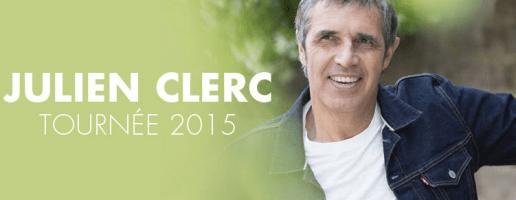 Julien Clerc tournee 2015 fnac saint amand pasino