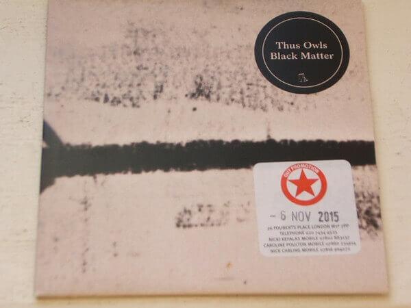 THUS OWL lance un nouvel EP nommé BLACK MATTER cacestculte
