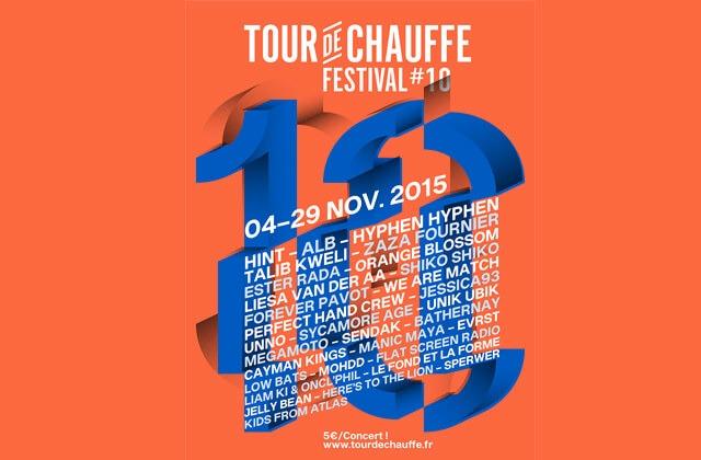 Tour de Chauffe 10 tour de chauffe 2015 Ester Rada, We Are Match, Forever Pavot cacestculte