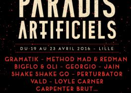les paradis artificiels lille 2016 141215 Les Paradis Artificiels 2016 cacestculte