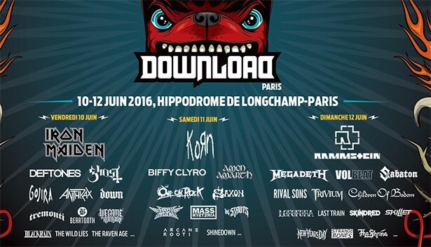 Download Festival Paris 2016