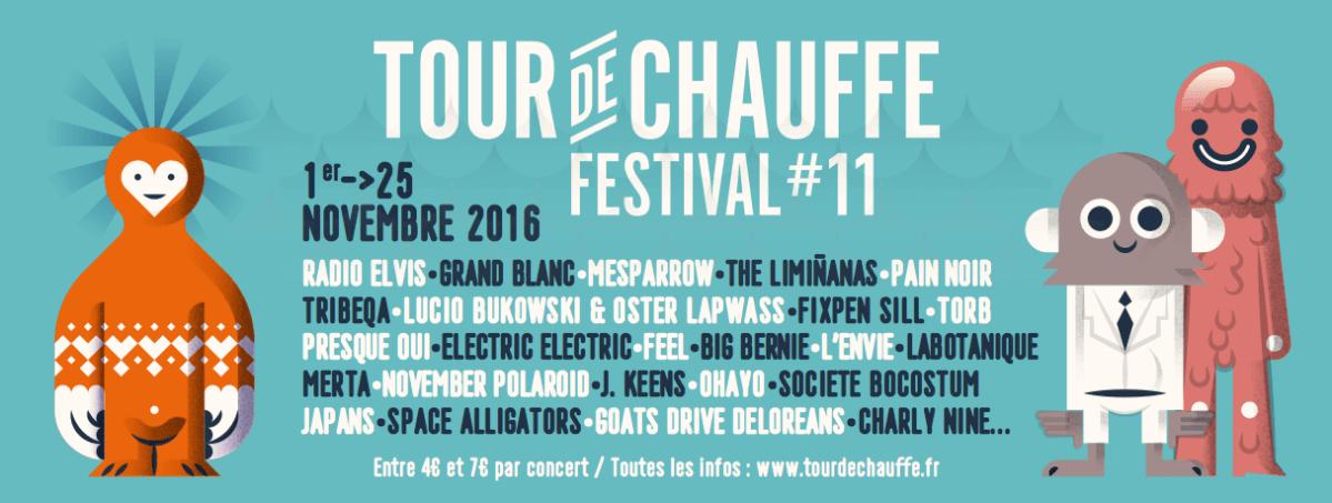 tour de chauffe festival 2016