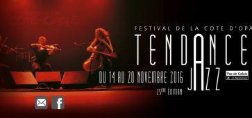 Festival Tendances Jazz 2016 Côte d'Opale Boulogne sur mer
