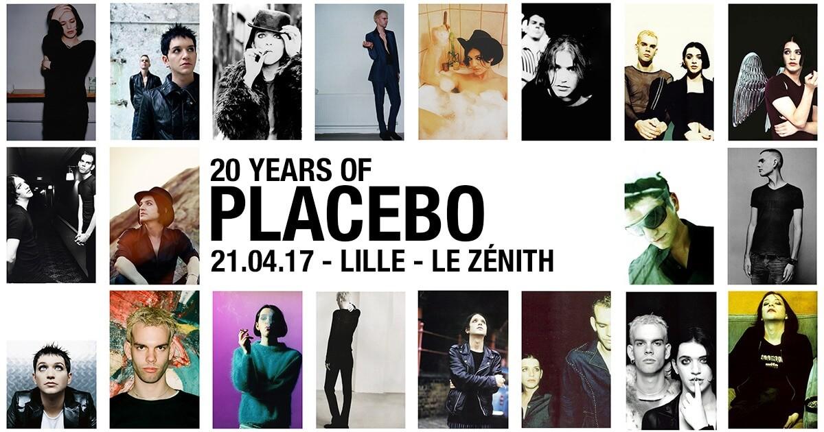 Nouvelle date de Placebo au Zénith de Lille concert 20 years of placebo concerts cacestculte