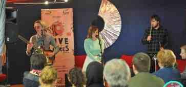 Paprika Kinski Live entre les Livres à La Médiathèque de Douchy-les-Mines © Sébastien Ciron