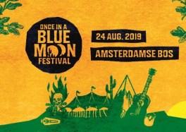 La deuxième édition du festival Once In A Blue Moon, dans l'Amsterdamse Bos cacestculte
