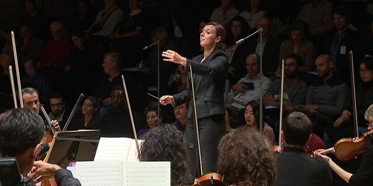 Lucie Leguay nommée cheffe assistante à l'Orchestre national d'Île-de-France, l'Orchestre National de Lille et l'Orchestre de Picardie pour la saison 2019-2020 cacestculte