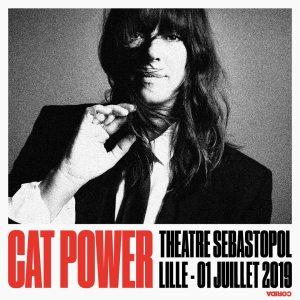 Cat Power au Théâtre Sebastopol de Lille le 1er juillet 2019