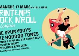 Printemps Rock'n Roll à Lesquin, le 17 mars 2019 et c'est GRATUIT !