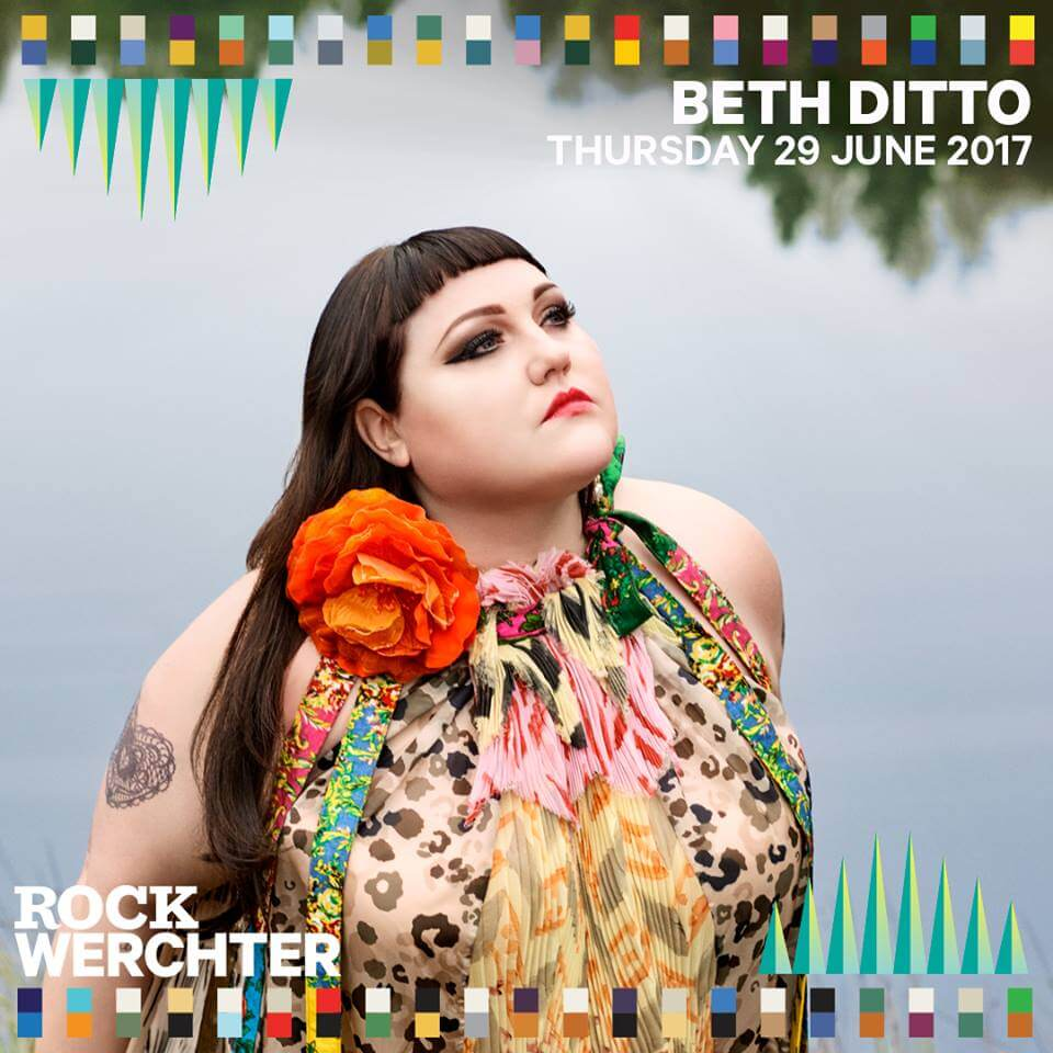 Beth Ditto Milky Chance Warpaint Rock Werchter 2017