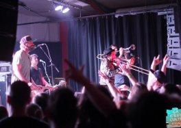 Retour sur Jon Gazi / Buster Shuffle / Mad Caddies le 23 Février au Hangar 27 (Edegem, Belgique)