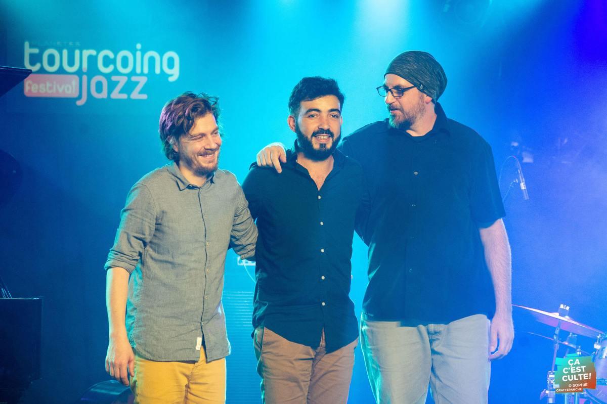 Yannic Seddiki Trio au Tourcoing Jazz Festival 2019 ©Sophie GRATTEPANCHE