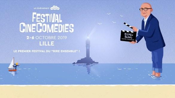 Festival CineComedies 2019 Michel Blanc l'invité d'honneur
