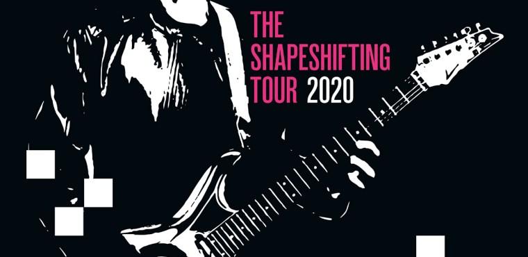 Joe Satriani à l'Olympia le 2 juin 2020 et en tournée en 2020