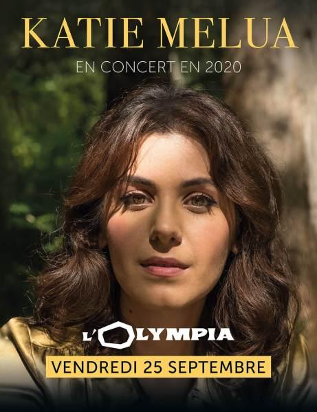 Katie Melua en concert à L'Olympia le 25 septembre 2020 a
