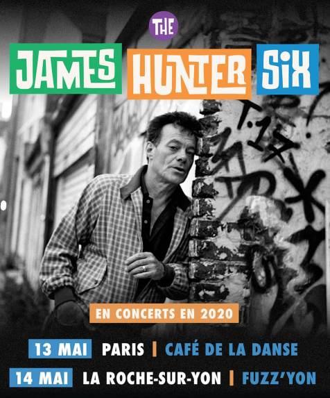 The James Hunter Six en concert au Café de la Danse le 13 mai 2020