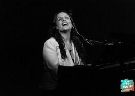 Nach et Mélanie Isaac au Centre André Malraux d'Hazebrouck dans le cadre du Festival Si ça me chante !