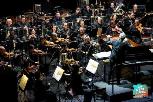 "Lambert Wilson et L'Orchestre National de Lille ""Kurt Weill"" au Théâtre Municipal de Béthune ©Ludovic MANNECHEZ"