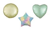 Plain Foil Balloon Shapes