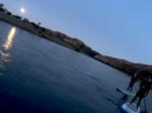 Full Moon Stand Up Paddle Board Tour from Santiago