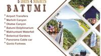 5 days, 4 nights in Batumi, Tour and Hotel