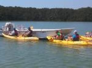 Boat Assisted Kayak Eco Tour (ENP)