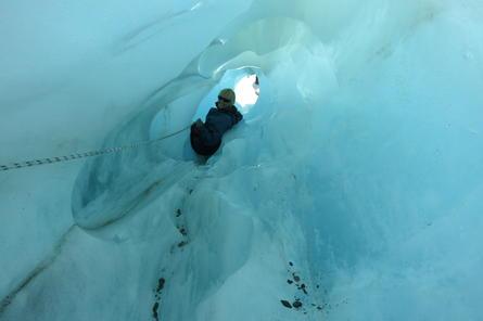 Snow Cave Hiking