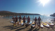 SUP and Snorkeling Tour Blue Lagoon - Loutraki Bay, Chania, Stand Up Paddleboarding