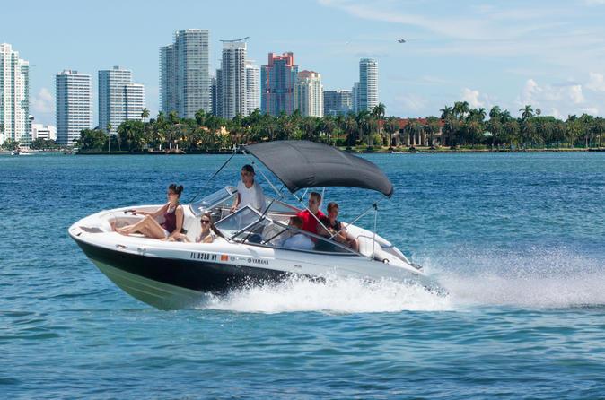 miami speedboat tour saltlife boatlife