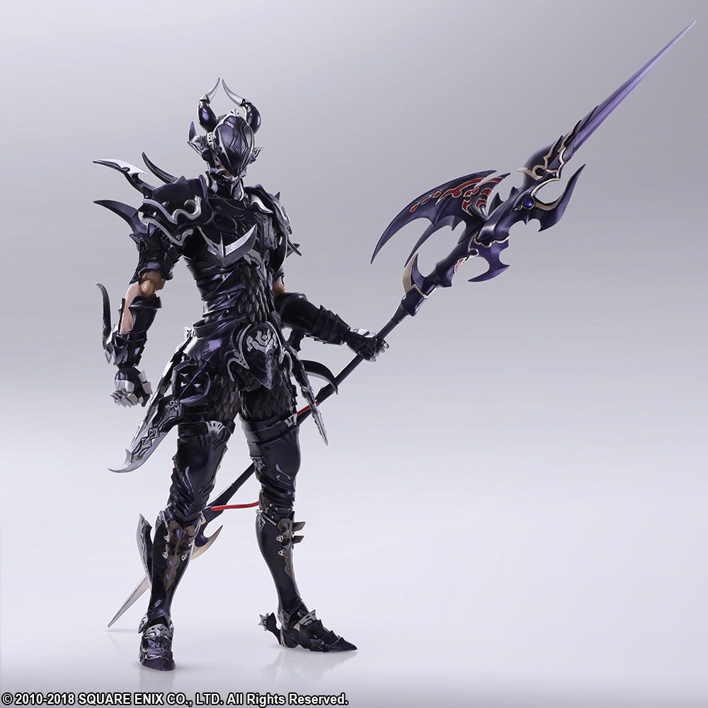 Pre Order Final Fantasy Xiv Bring Arts Estinien Action Figure News Final Fantasy Portal Site Square Enix