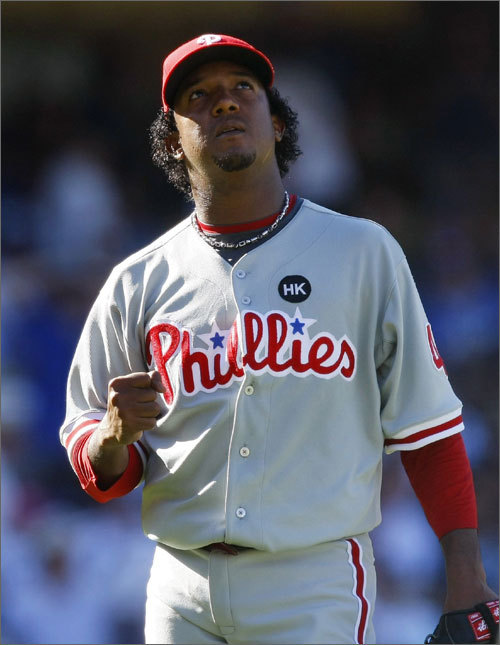 Pedro Martinez will get the start for Phillies in tonight's Game 2 of the World Series against his old nemesis, the New York Yankees. In 32 games against the Yankees -- most of which came during his seven brilliant seasons with the Red Sox -- Martinez is 11-11 with a 3.20 ERA in the regular season, and 1-2 with a 4.72 ERA in six postseason appearances. But the numbers don't tell the whole story -- some of Martinez's greatest victories and most bitter disappointments have come against the team he will face tonight. Here's a look back at his career against the Yankees.