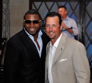 David Ortiz and Tim Wakefield