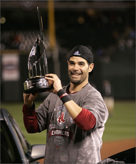His personal success helped the Red Sox hold onto their American League East lead and eventually the team's seventh and Mike Lowell's second World Series title. Lowell was named World Series MVP after hitting .400 with one HR and four RBIs in the sweep over the Rockies.