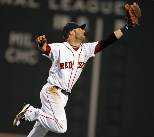 Second base: 2009 defensive stats: 154 starts, .991 FPCT, 6 errors. Pedroia said last year he hoped to play 162 games; he played 154 after playing 155 in his MVP season in '08. In other words: Good luck convincing him to take a day off, Tito. Offensively, Pedroia is as good as it gets as a No. 2 hitter, batting .296 with 15 homers and 72 RBIs last season in his follow-up to his AL MVP-winning campaign in 2008.