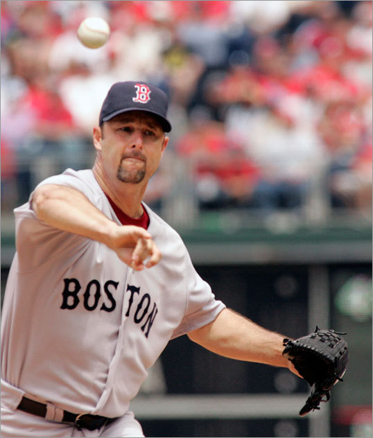 In contrast, Tim Wakefield shut out the Phillies for eight innings Sunday.