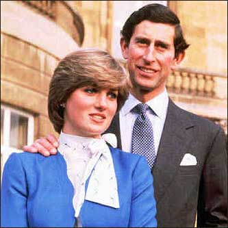 Prince Charles and Lady Di