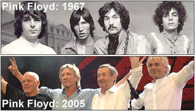 Pink Floyd - Before / Now