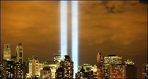 US remembers horror five years after 9/11