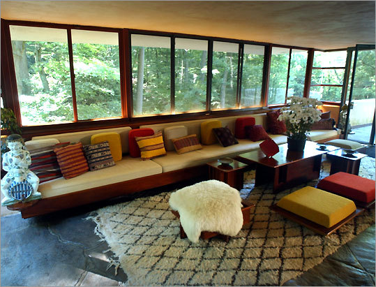 Wrights Fallingwater Appeals To Many Senses The Boston