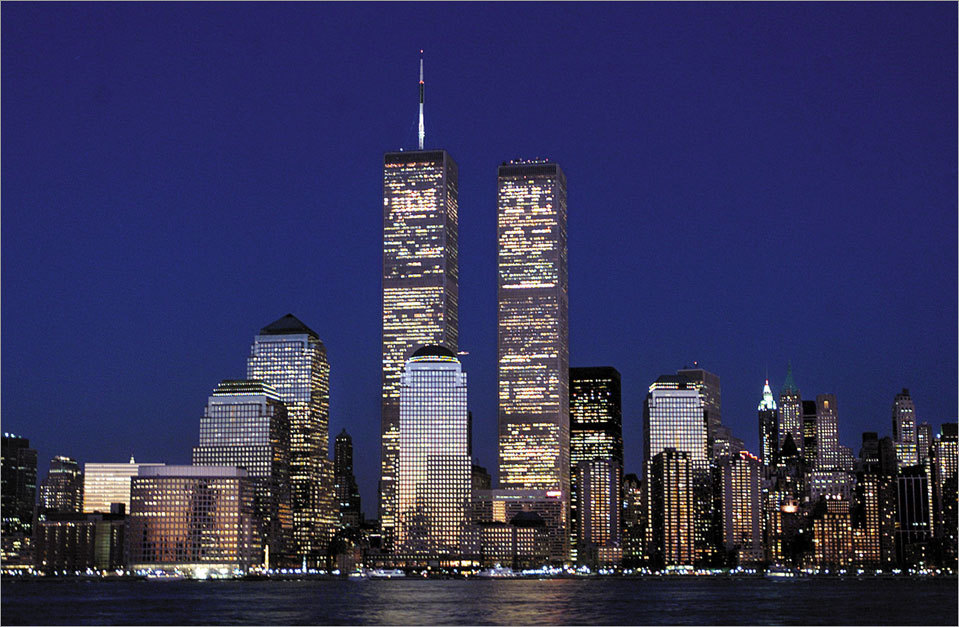 Pictures of 9/11: New York City skyline - before & after - Boston.com